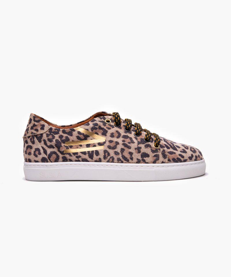 sneaker david leopardo