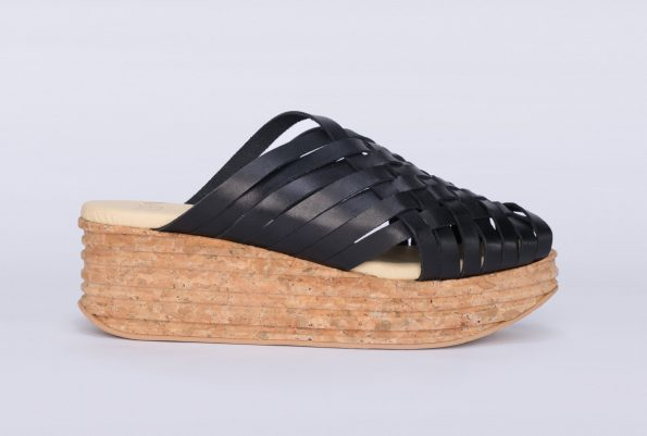 Suela Shoes Sandalia Trenzada Black