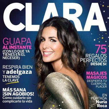 Nuria Roca en la revista Clara